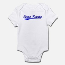 Vintage Terre Haute (Blue) Infant Bodysuit