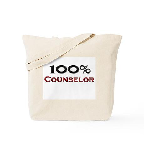 100 Percent Counselor Tote Bag