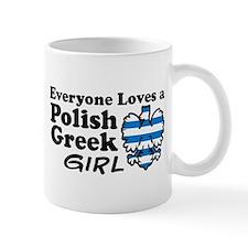 Polish Greek Girl Small Mug