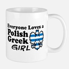 Polish Greek Girl Small Small Mug