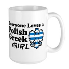 Polish Greek Girl Mug