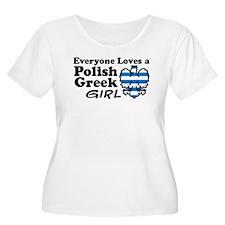 Polish Greek Girl T-Shirt