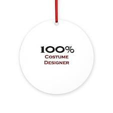 100 Percent Costume Designer Ornament (Round)