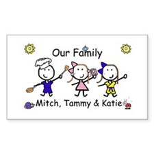 Family - Levine Rectangle Decal