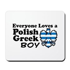 Polish Greek Boy Mousepad