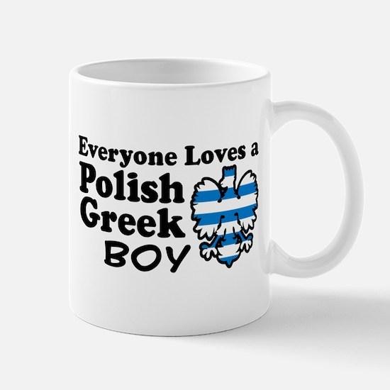Polish Greek Boy Mug
