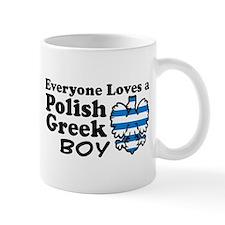 Polish Greek Boy Small Mug