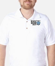 Polish Greek Boy Golf Shirt