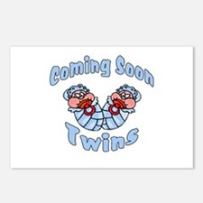 Expecting Twins Postcards (Package of 8)