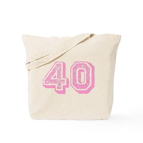 Pink 40 Years Old Birthday Tote Bag