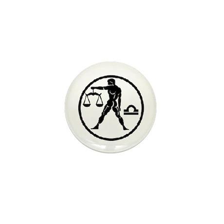 Libra Mini Button (100 pack)