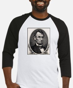 Abe Lincoln portrait Baseball Jersey