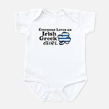Irish Greek Girl Infant Bodysuit