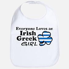 Irish Greek Girl Bib