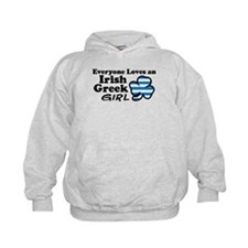 Irish Greek Girl Hoodie