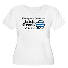 Irish Greek Girl T-Shirt