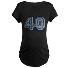 Blue 40 Years Old Birthday T-Shirt