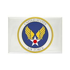 USAF USAAC Roundel Rectangle Magnet