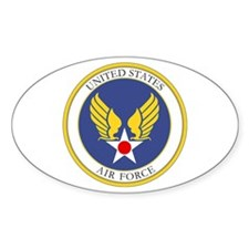 USAF USAAC Roundel Oval Decal