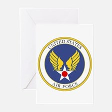 USAF USAAC Roundel Greeting Cards (Pk of 10)