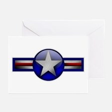 USAF Roundel Greeting Cards (Pk of 10)