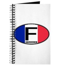 France Oval Colors Journal