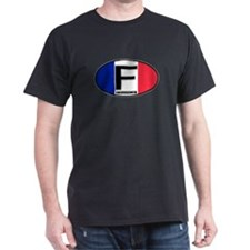 France Oval Colors T-Shirt