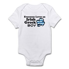 Irish Greek Boy Infant Bodysuit