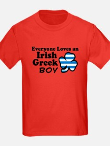 Irish Greek Boy T