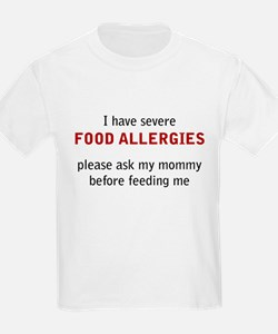 Allergy awareness T-Shirt