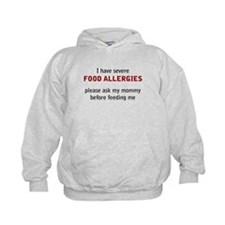 Unique Food allergy Hoodie