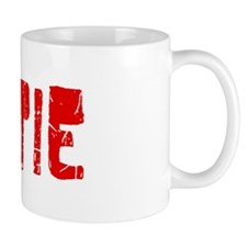 Gertie Faded (Red) Mug