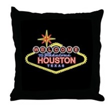 Welcome to Houston, Texas Throw Pillow