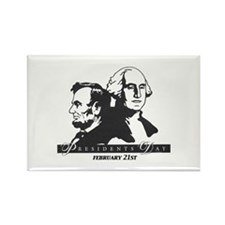 Presidents day Rectangle Magnet
