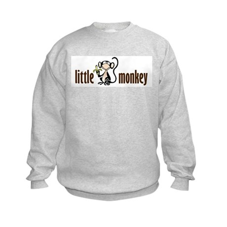 little monkey Kids Sweatshirt