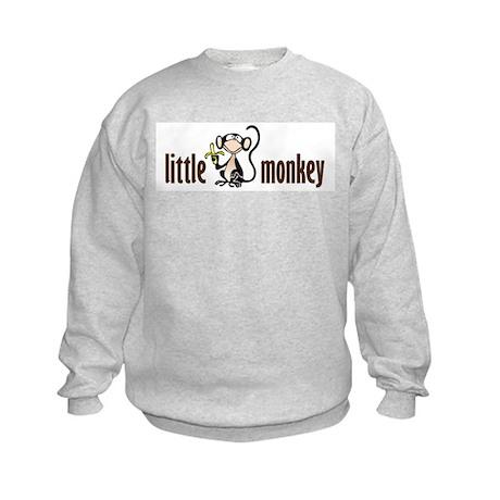 little monkey Kids Sweatshirt