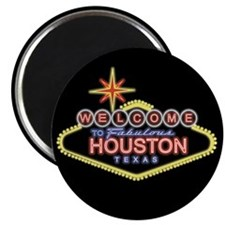 Welcome to Houston, Texas Magnet
