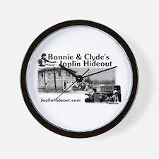 Joplin Hideout Wall Clock