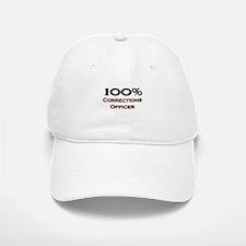 100 Percent Corrections Officer Baseball Baseball Cap