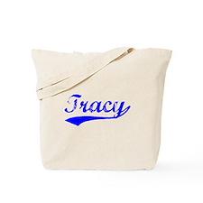 Vintage Tracy (Blue) Tote Bag