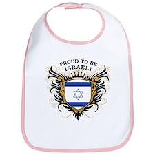 Proud to be Israeli Bib