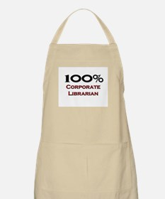 100 Percent Corporate Librarian BBQ Apron