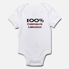 100 Percent Corporate Librarian Infant Bodysuit