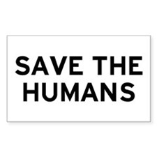 Save Humans Decal