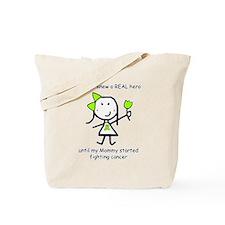 Lime Ribbon - Hero Tote Bag