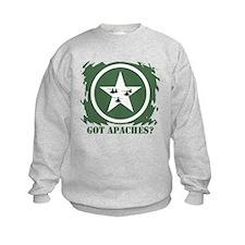 Got Apaches? Apache Ah-64d Sweatshirt