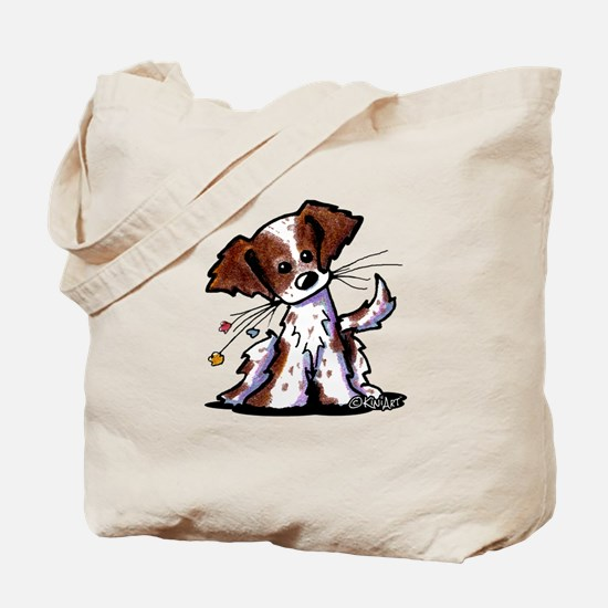 Tiny Liver Brittany Tote Bag
