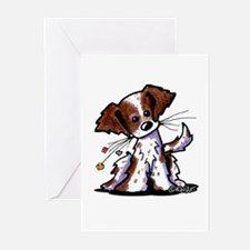 Tiny Liver Brittany Greeting Cards (Pk of 10)