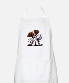 Tiny Liver Brittany BBQ Apron