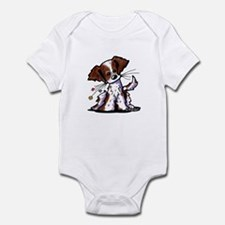 Tiny Liver Brittany Infant Bodysuit